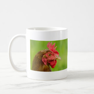 Red Chicken Portrait - Mug