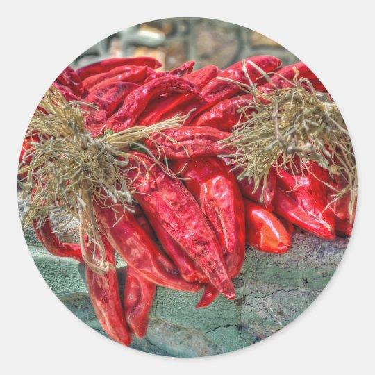 Red Chiles Sticker