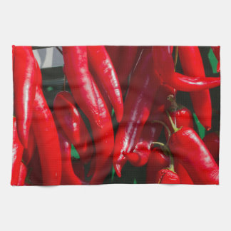 red chili kitchen towel