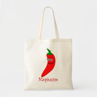 Red Chili Pepper Bag Just Add Name
