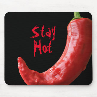 Red Chili Pepper || Stay hot Mouse Pad