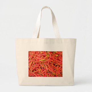 Red Chili Peppers Tote Bags