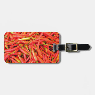 Red Chili Peppers Luggage Tag
