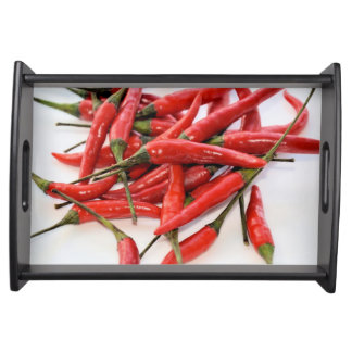 Red Chili Peppers Serving Tray