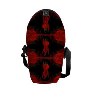 Red Chilies Rickshaw Messenger Bag