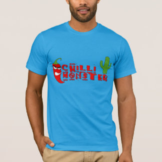 Red Chilli Fiend Hot Pepper Monster T-Shirt