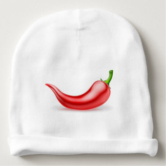 Red Chilli Pepper Baby Beanie