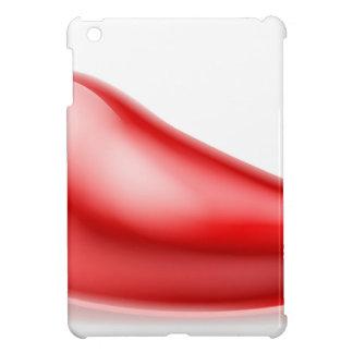 Red Chilli Pepper Illustration iPad Mini Cover