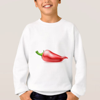 Red Chilli Pepper Illustration Sweatshirt