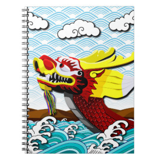 Red Chinese Dragon - Photo Notebook