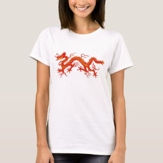 red chinese dragon T-Shirt