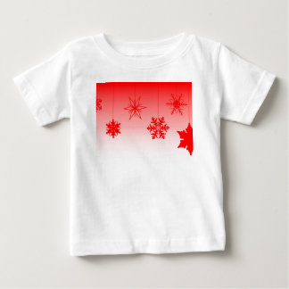 Red Christmas Decorations Baby T-Shirt