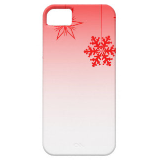 Red Christmas Decorations iPhone 5 Cases