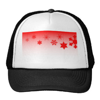 Red Christmas Decorations Trucker Hat