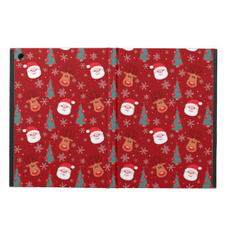 Red Christmas pattern Case For iPad Air
