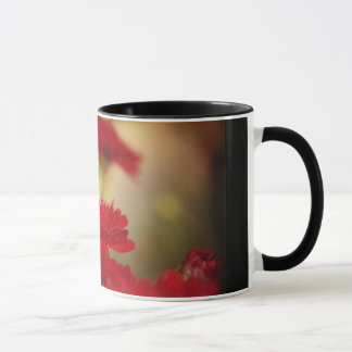 Red Chrysanthemums Mug