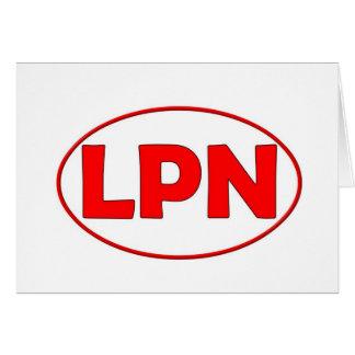 Red Circle LPN Cards