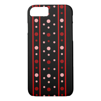 Red circles iPhone 7 case