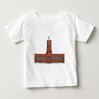 Red City Hall Berlin Baby T-Shirt