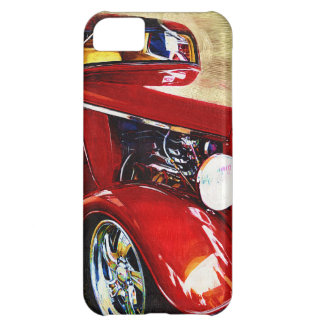 Red Classic Car Iphone 5 for Men Case For iPhone 5C