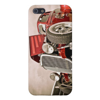 Red Classic Collectors Car Cover For iPhone 5/5S