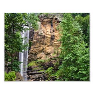 Red Clay Falls Photo Print
