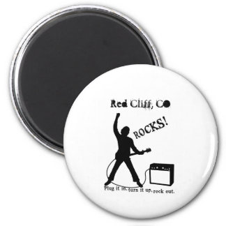 Red Cliff, CO 2 Inch Round Magnet