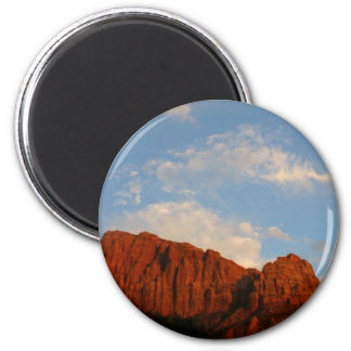 Red Cliffs of Zion Magnet