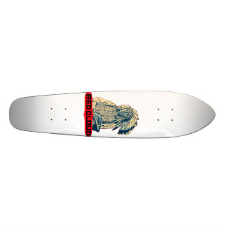 Red Cloud Custom Skateboard