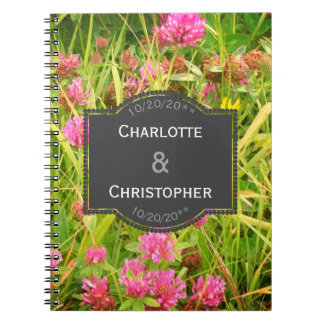 Red Clover And Buttercup Wedding Plans Book