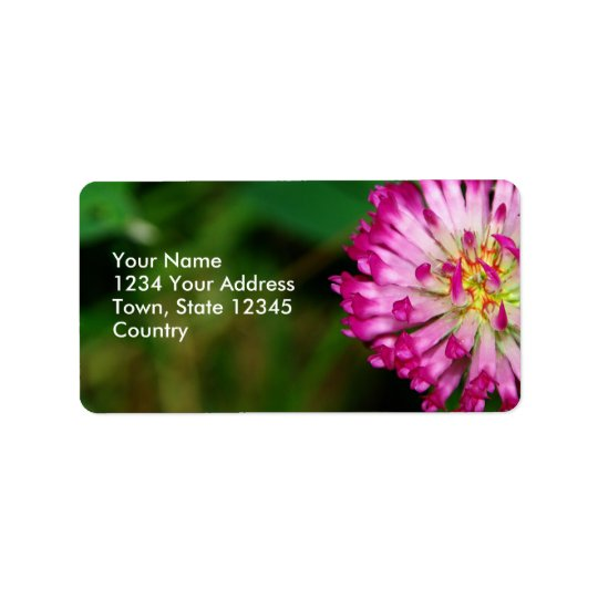 Red Clover Label