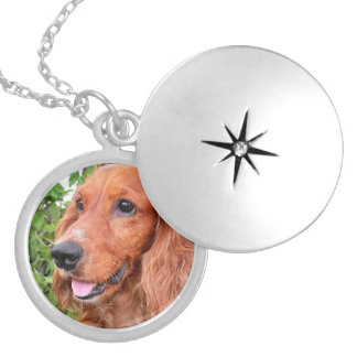 red cocker-spaniel-.png locket necklace