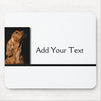 Red Cocker Spaniel Portrait Mouse Pad