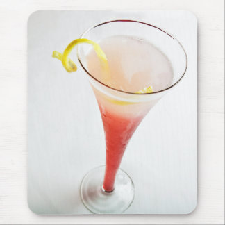 Red Cocktail 2 Mouse Pad