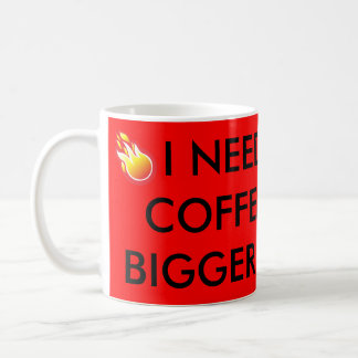 Red coffee mug with hilarious saying,holds 11oz.