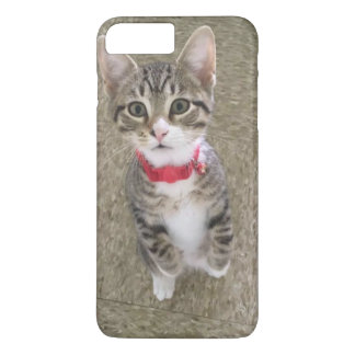 Red Collar Kitty iPhone 7 Plus Case