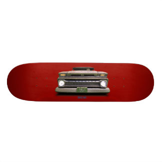 Red Colorado Dead Rider Toasted Autos Skateboard