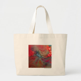 Red Colorful Abstract Bag