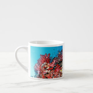 Red Coral Reef Espresso Cup