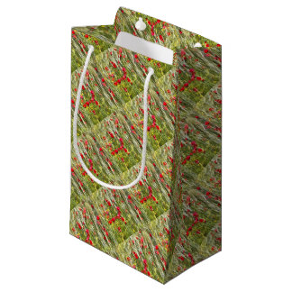 Red Corn Poppies Small Gift Bag
