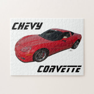 Red Corvette Jigsaw Puzzle