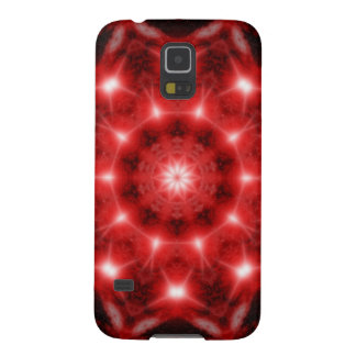Red Cosmos Mandala Case For Galaxy S5