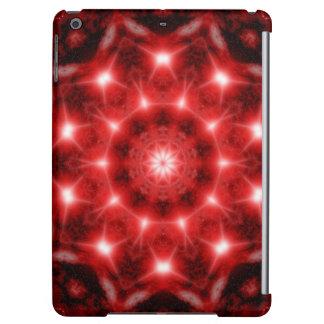 Red Cosmos Mandala Case For iPad Air