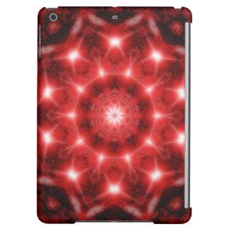Red Cosmos Mandala iPad Air Cases