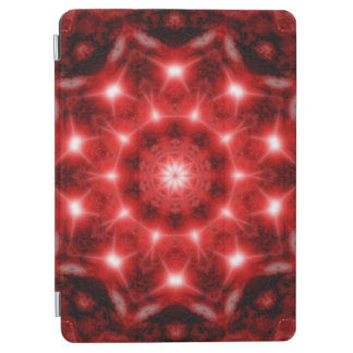 Red Cosmos Mandala iPad Air Cover