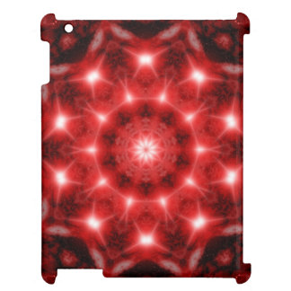 Red Cosmos Mandala iPad Covers