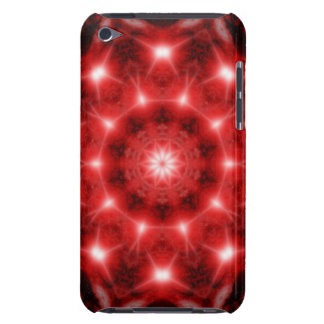 Red Cosmos Mandala iPod Case-Mate Cases