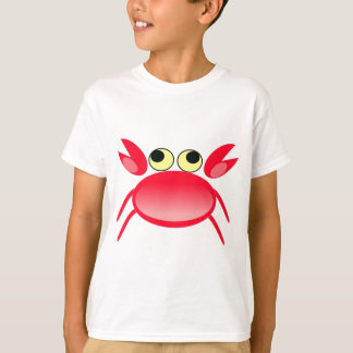 Red crab animation illustration T-Shirt