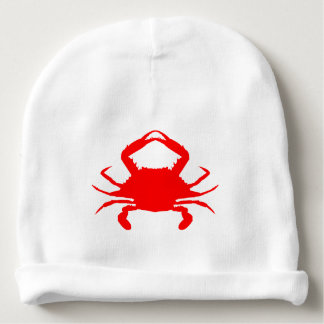 Red Crab Baby Beanie
