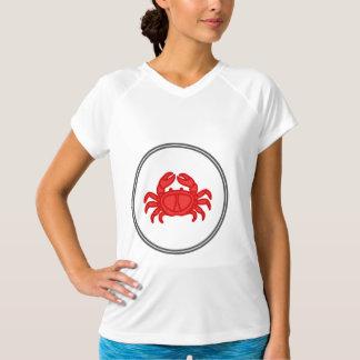 Red Crab - Fish Prawn Crab Collection T-Shirt